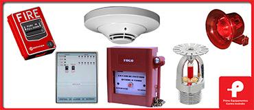 Detecção e combate a incêndio